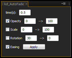自動でフェードイン・アウトさせるスクリプト:kd_AutoFade
