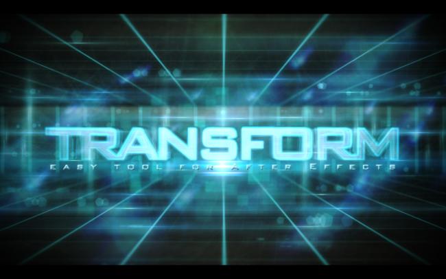 エクスプレッションでつくるロゴデザイン「LogoTransform」
