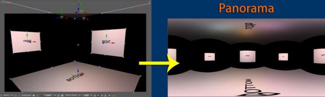 メッシュワープで作るパノラマ画像(Reflect Map)