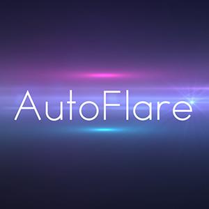 【スクリプト配布】Null/Lightレイヤーで制御可能なレンズフレアを作成する「AutoFlare」