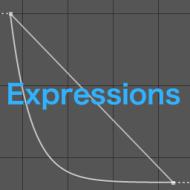 グラフエディターを使わずにエクスプレッションだけでイージングする