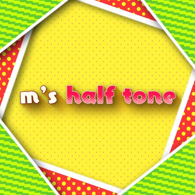 ハーフトーンプラグイン m's halftone